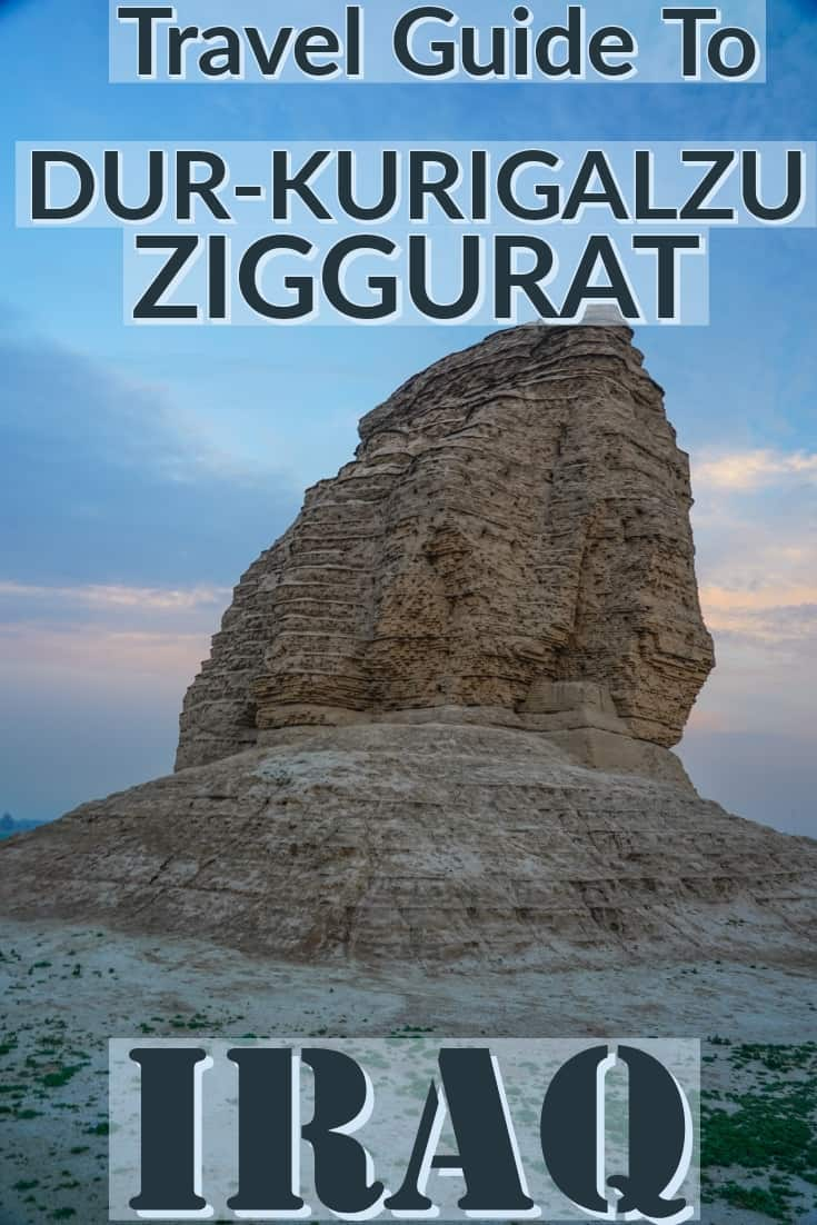 Travel Guide To the Ziggurat of Dur-Kurigalzu, and easy daytrip from Baghdad the capital of Iraq.