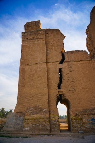 That´s what i call a crack Ctesiphon iraq