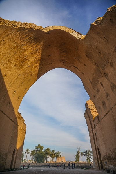 Ctesiphon In Iraq the largest stone arch in the world