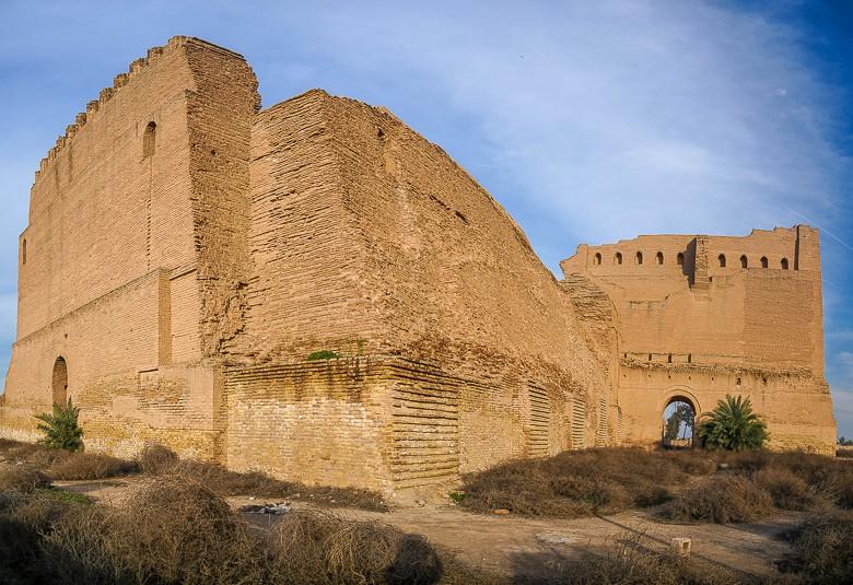 The backside of Taq Kasra Ctesiphon iRAQ
