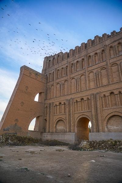 Western part of Taq Kasra Iraq