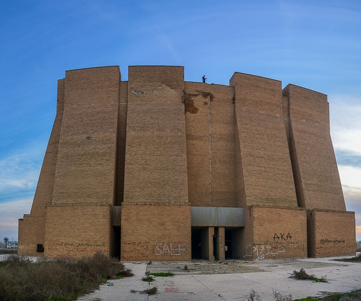 The Panoramic building just east of Ctesiphon in Iraq