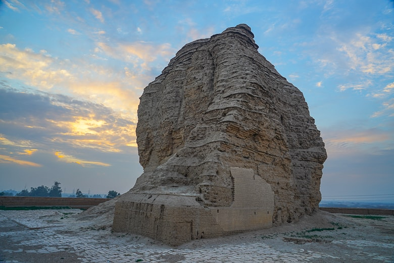 Dur-Kurigalzu is more than 3400 years old in iRAQ