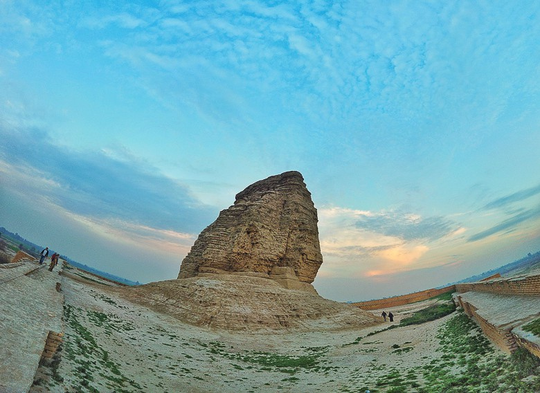 The Ziggurat of Dur-Kurigalzu photo taken with my DJi Osmo Pocket.