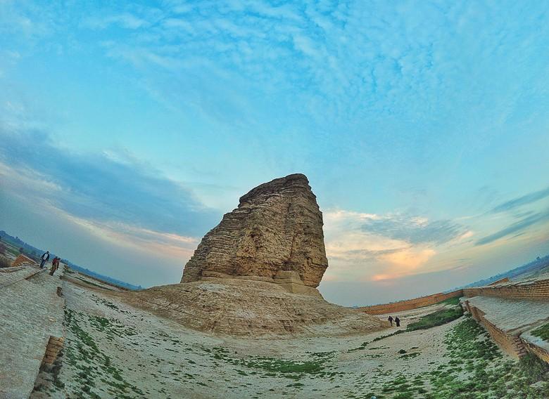 The Ziggurat of Dur-Kurigalzu photo taken with my DJi Osmo Pocket.