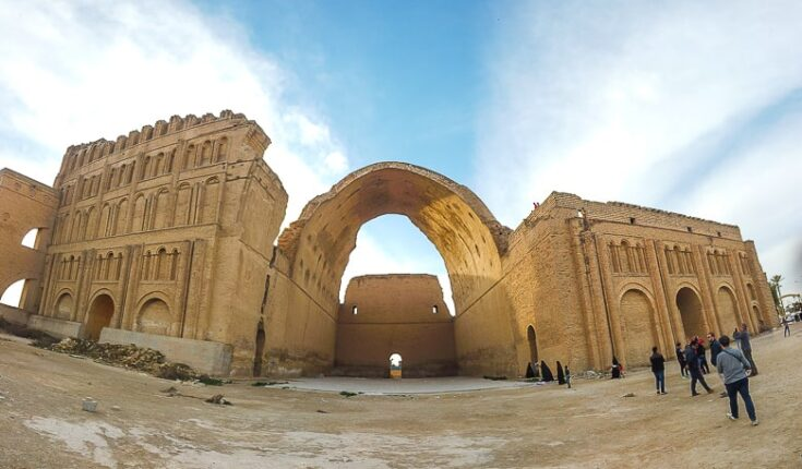 the ruins of the ancient city of Ctesiphon