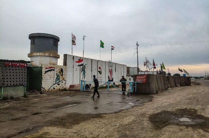 Military base along the way to Samarra.