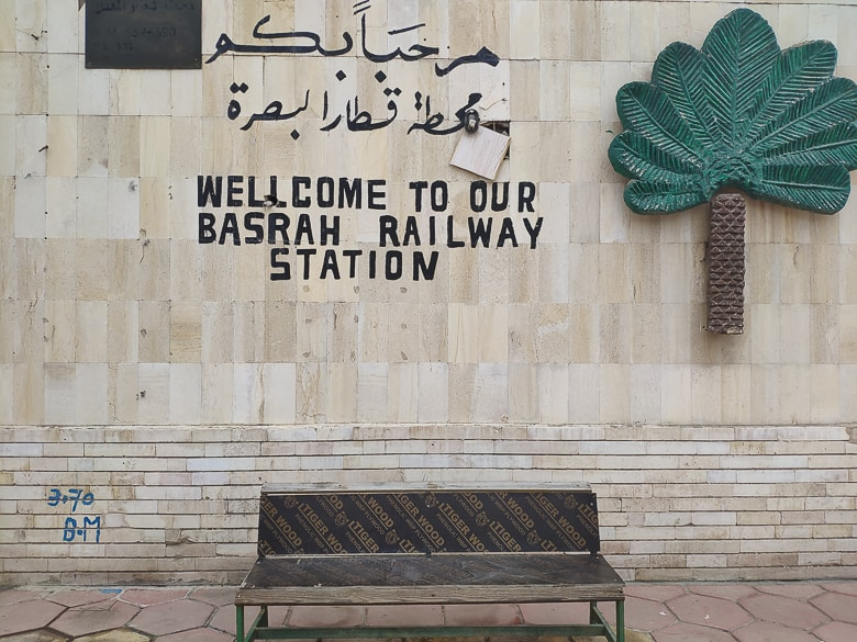 Basra Railway Station in Iraq