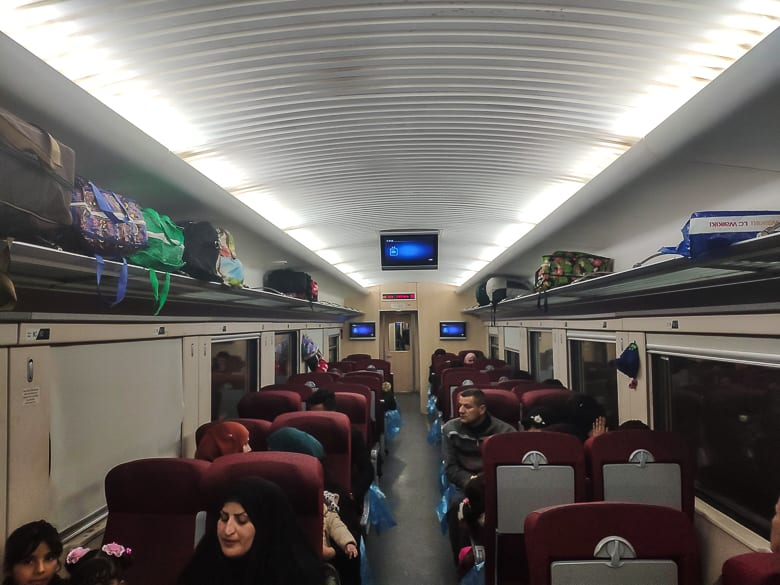 The train got completely full on Iraq train