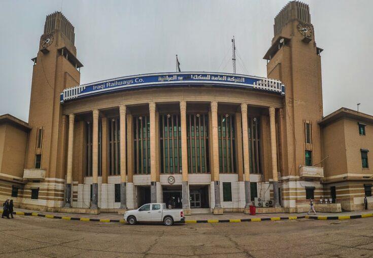 Baghdad railway station in Iraq