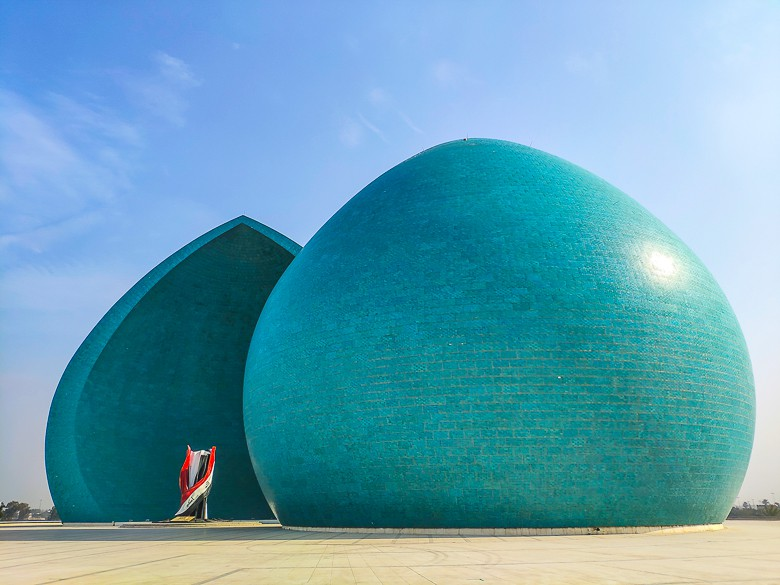 Al-Shaheed Monument in Baghdad a famous monument in Iraq