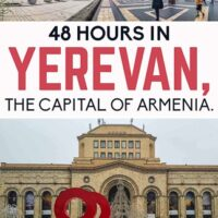 travel guide with the best things to do in Yerevan the capital of Armenia