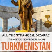 Fun facts from Trukmenistan