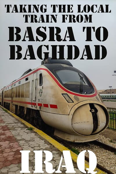 Travel Guide to the Iraqi Railway. Take a local train from Basra in Southern Iraq to the capital of Iraq. Baghdad.