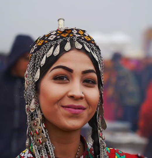 local woman turkmenistan