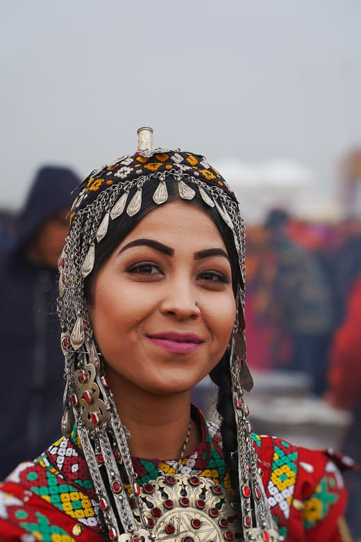 woman in Turkmenistan