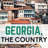 Travel guide to Georgia the small country and the first country to make wine in the world