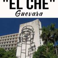It was in the city of Santa Clara, in Central Cuba. So it's easy to understand why El Che