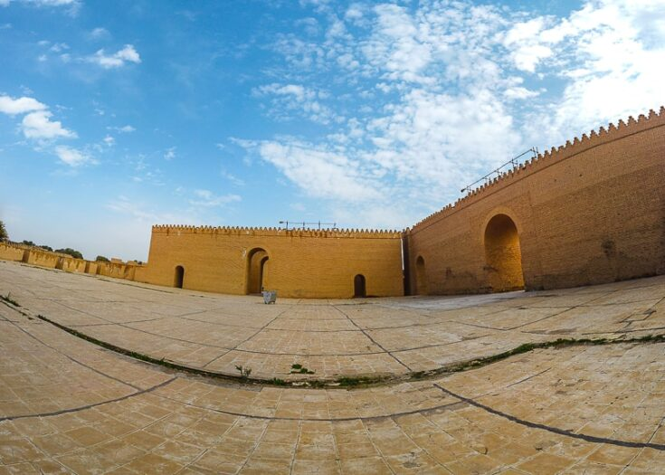 Inside what´s belived to have been Nebuchadnezzar palace