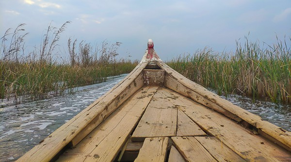 Traveling around the Mesopotamian Marshes