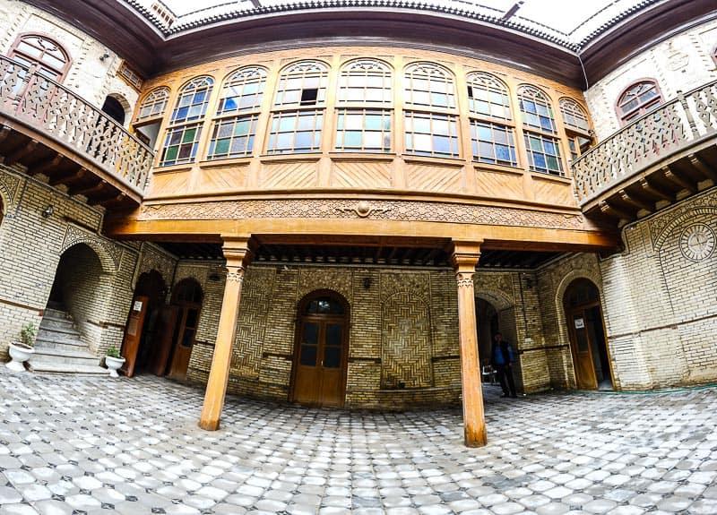 Inside old house basra