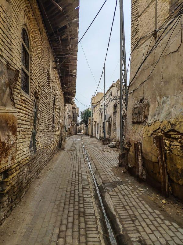 Old part of Basra Iraq