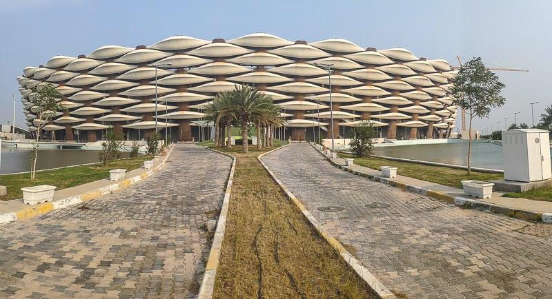 Basra football stadium