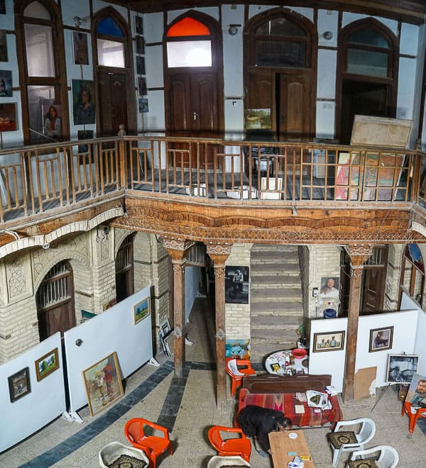 old Basra art gallery in Iraq