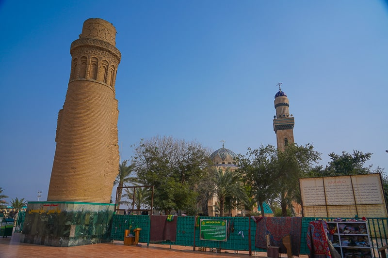 Old Mosque of Basra ( The Imam Ali Mosque) was the first Mosque in Islam that was built outside the Arabian peninsula. in south Iraq