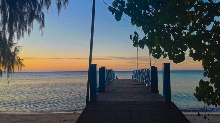 nabire sunset indonesia