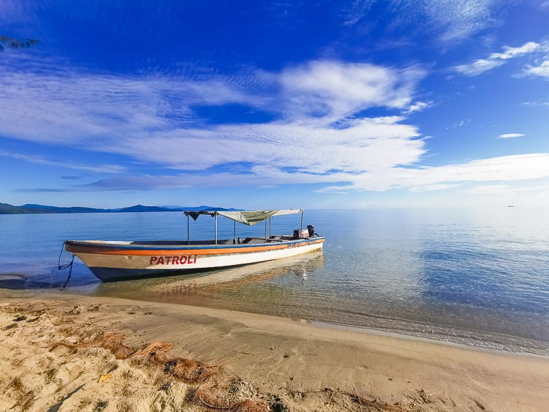 Nabire boat,