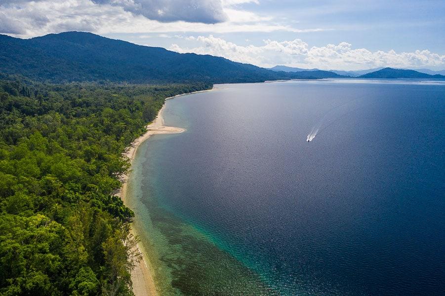 Nabire in west Papua Indonesia