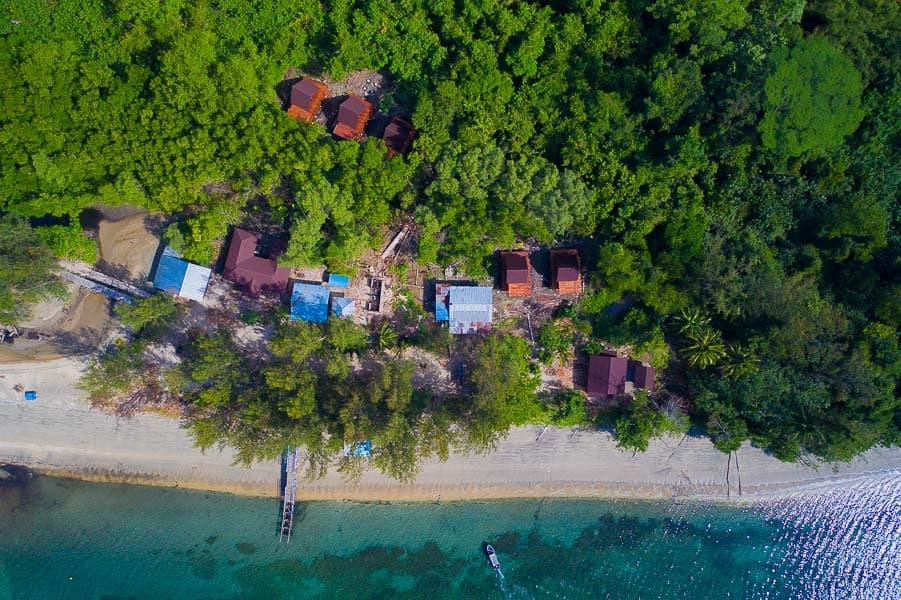 Sowa village in West Papua Indonesia