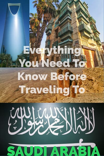 everything you need to know before traveling to the Kingdom of Saudia Arabia, the largest country in the middel east.