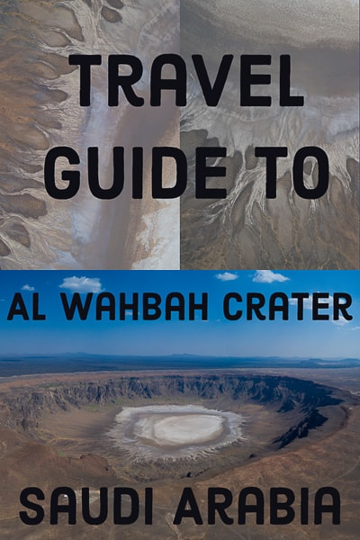 Travel guide to AL WAHBAH CRATER IN SAUDI ARABIA.