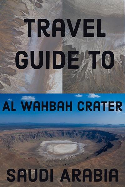 Travel guide to AL WAHBAH CRATER IN SAUDI ARABIA.