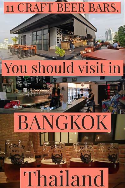bangkok craft beer thailand