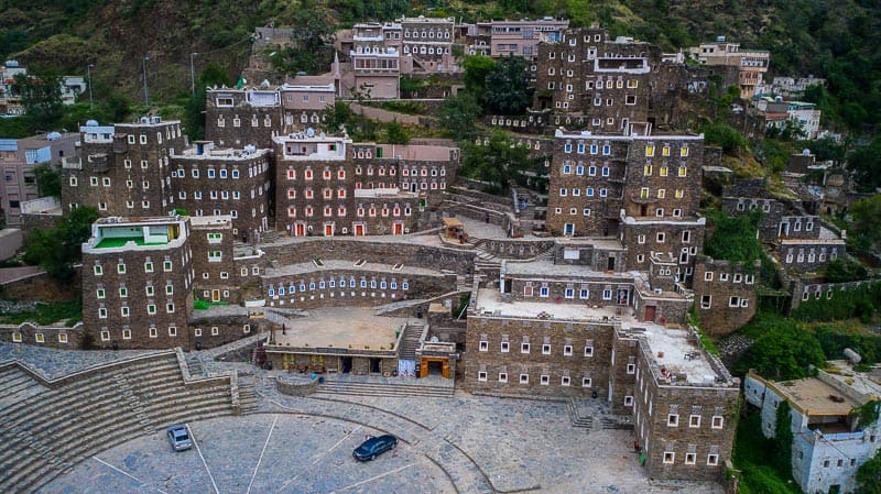 Rijal Alma The GingerBread Village in Southern Saudi Arabia
