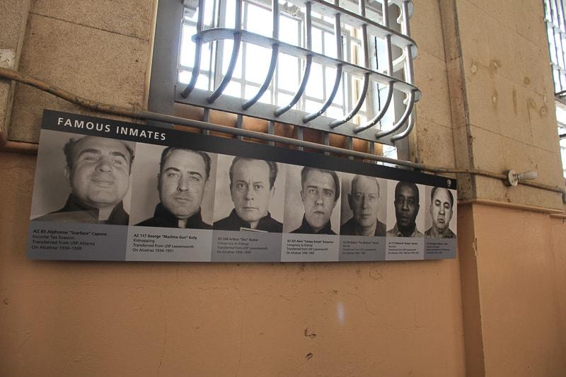 Famous inmates Alcatraz