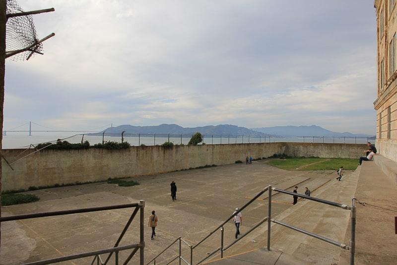 Alcatraz Recreation Yard travel guide