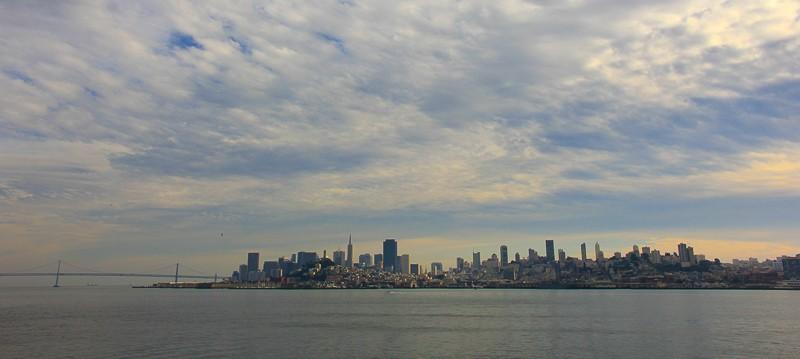 San Fransisco seen from Alcatraz