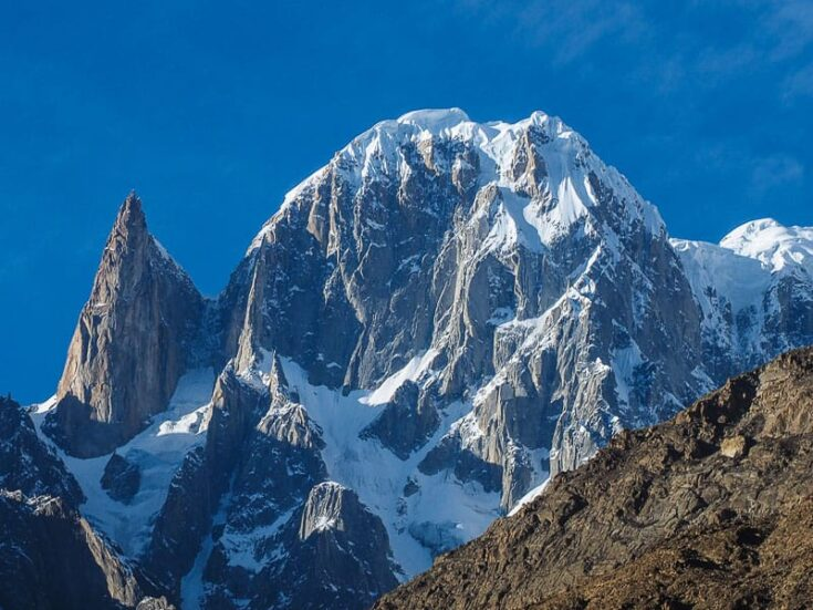 Ultar Sar and Ladyfinger Peak pakistan