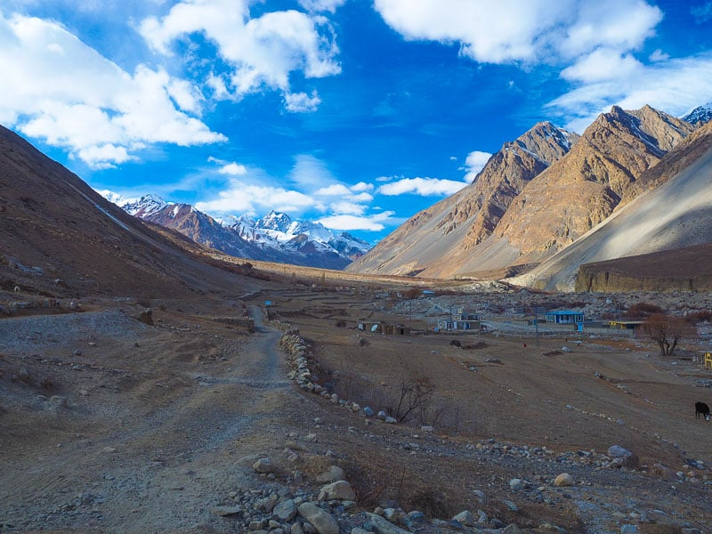 Chapursan valley in northern pakistan