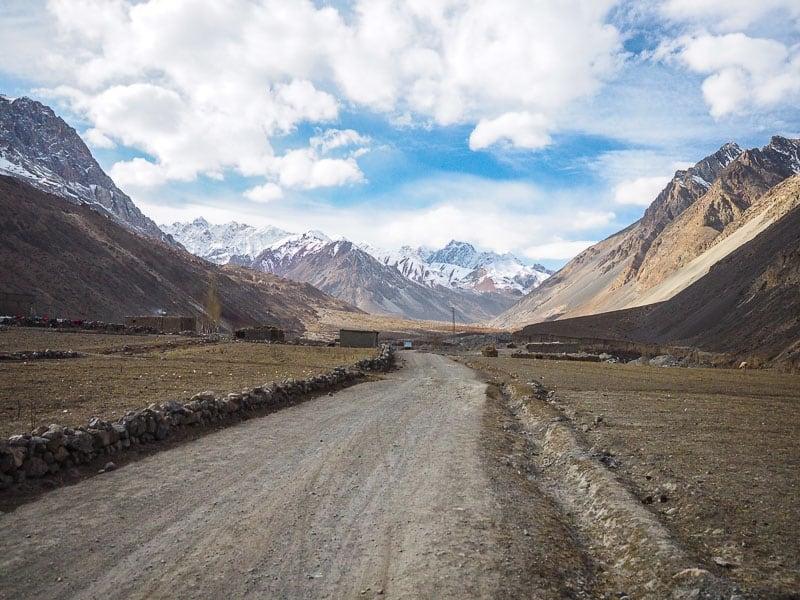 Reaching Chapursan Valley in far north west Pakistan.