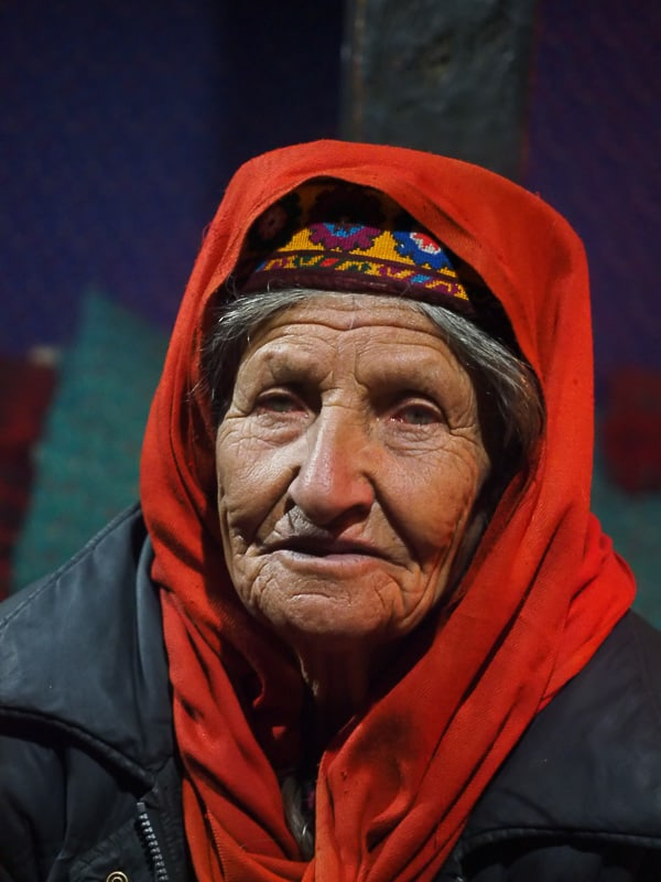 Northern Pakistan woman