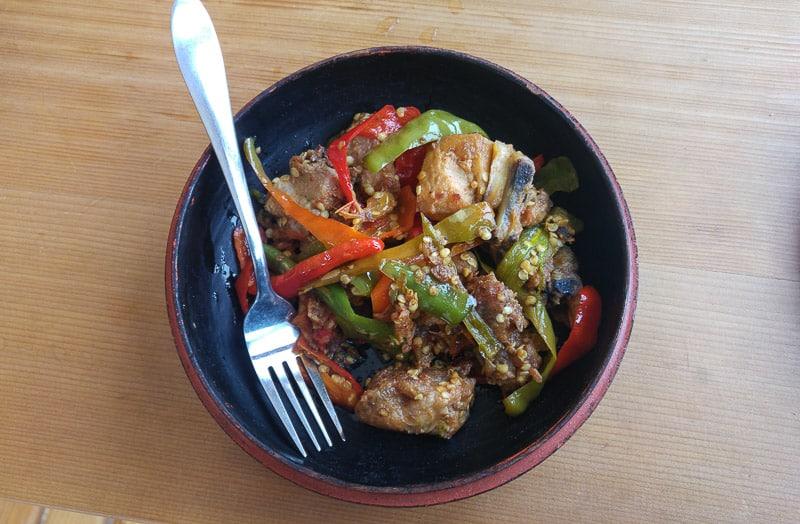 Local Bhutan food