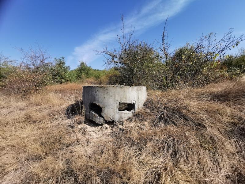 soviet sniper bunker in Transnistria