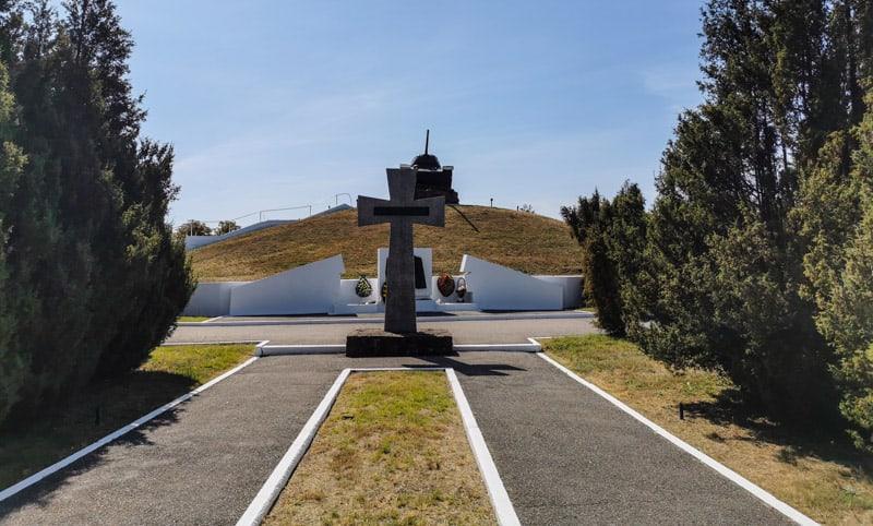 a tank in Transnistria