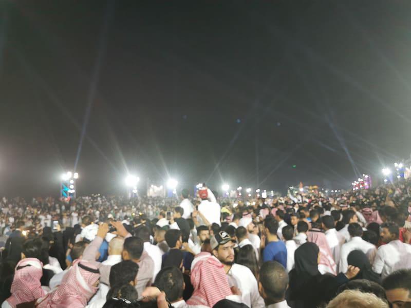 riyadh season crowded in saudi arabia