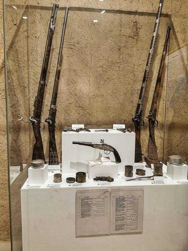 Masmak Fort weapons in saudi arabia